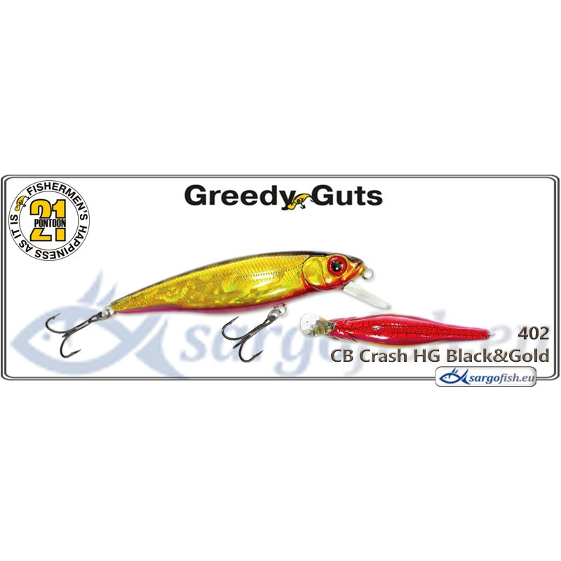 Воблер PONTOON 21 Greedy GUTS SR 77F - 402