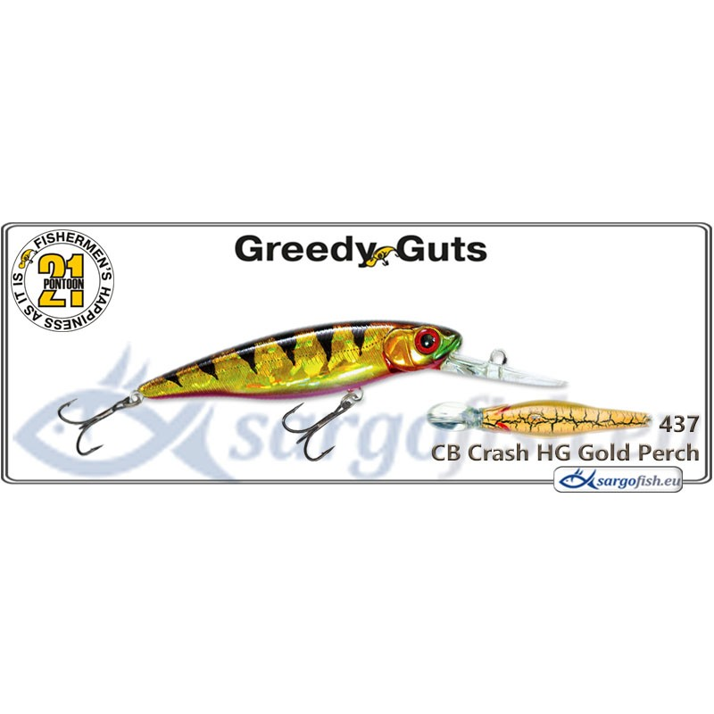 Воблер PONTOON 21 Greedy GUTS MDR 77SP - 437