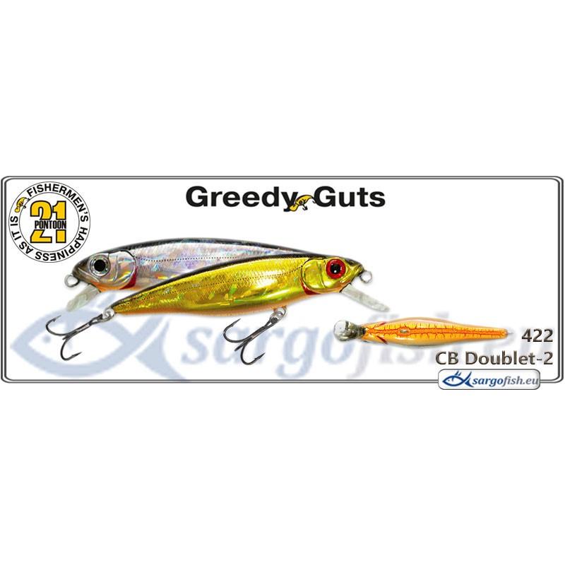 Воблер PONTOON 21 Greedy GUTS SR 88F - 422