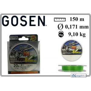 Плетеная леска GOSEN W Hard TYPE x8 - 1.0