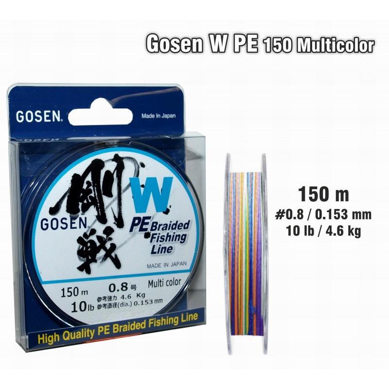 Плетеная леска GOSEN W PE - 0.8
