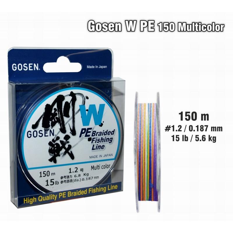 Плетеная леска GOSEN W PE - 1.2