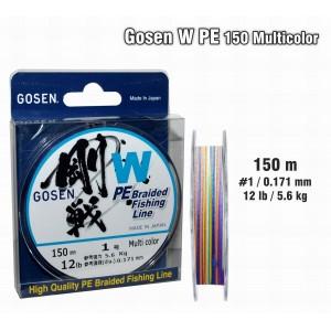 Плетеная леска GOSEN W PE - 1.0