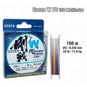 Плетеная леска GOSEN W PE - 2.0
