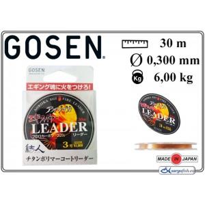 Леска GOSEN Aoriika Egi Fire Leader - 0.28