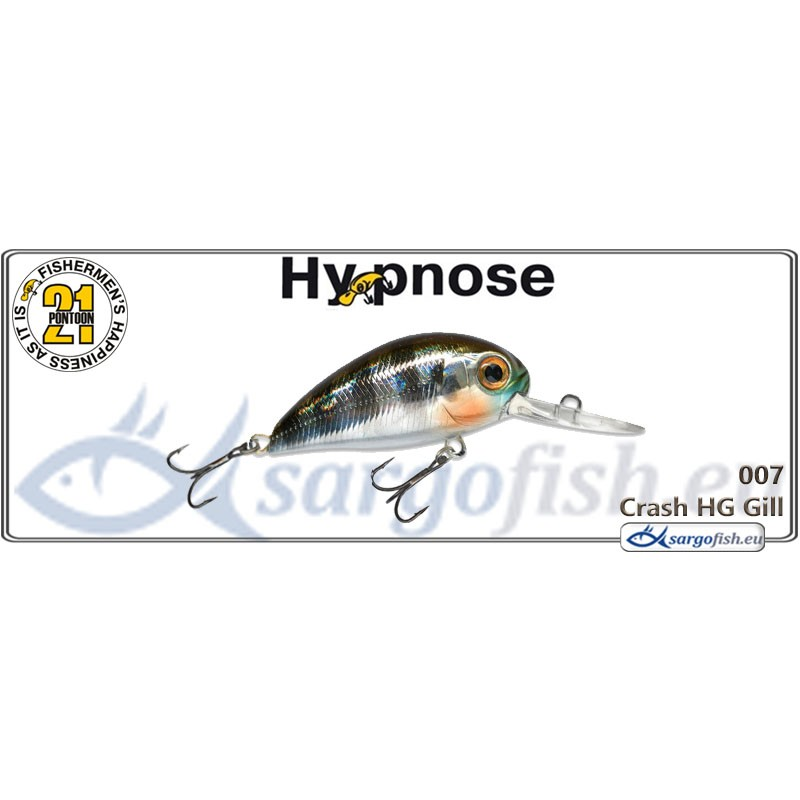 Воблер PONTOON 21 Hypnose MDR 38F - 007