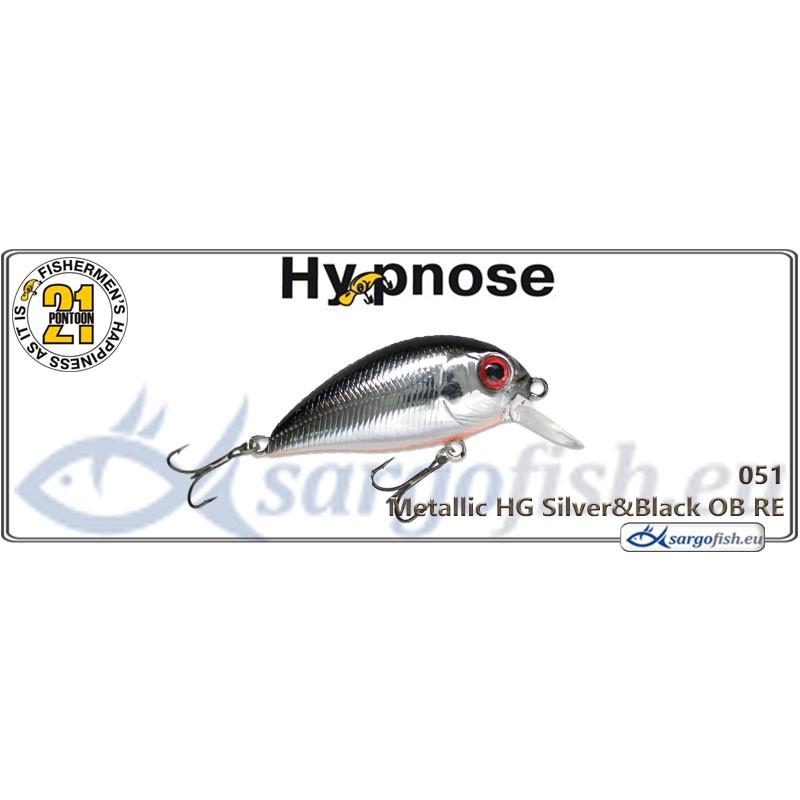 Воблер PONTOON 21 Hypnose SR 38F - 051