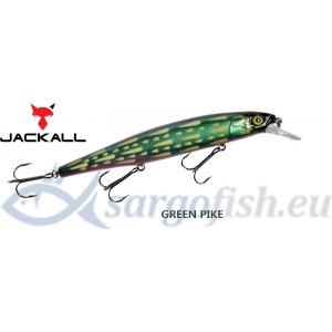 Воблер JACKALL «MagSquad» 128SP - Green Pike