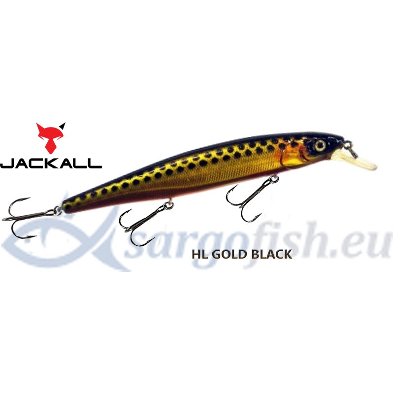 Воблер JACKALL MagSquad 128SP - HL Gold Black