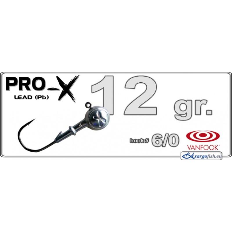 Головка для джига PRO-X 6/0 - 12.0