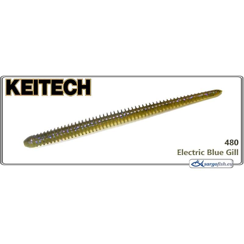 Силиконовая приманка KEITECH Easy SHAKER 3.5 - 480