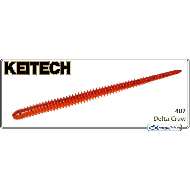 Силиконовая приманка KEITECH Easy SHAKER 4.5 - 407
