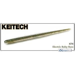 Силиконовая приманка KEITECH Easy SHAKER 4.5 - 474