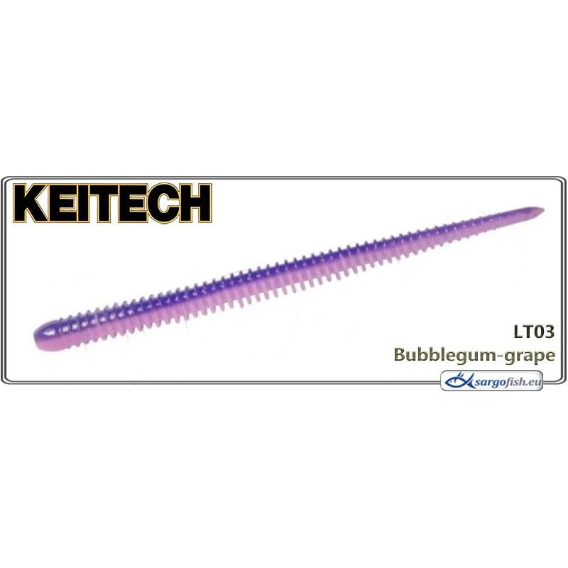 Силиконовая приманка KEITECH Easy SHAKER 4.5 - LT03