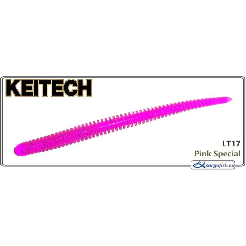 Силиконовая приманка KEITECH Easy SHAKER 4.5 - LT17