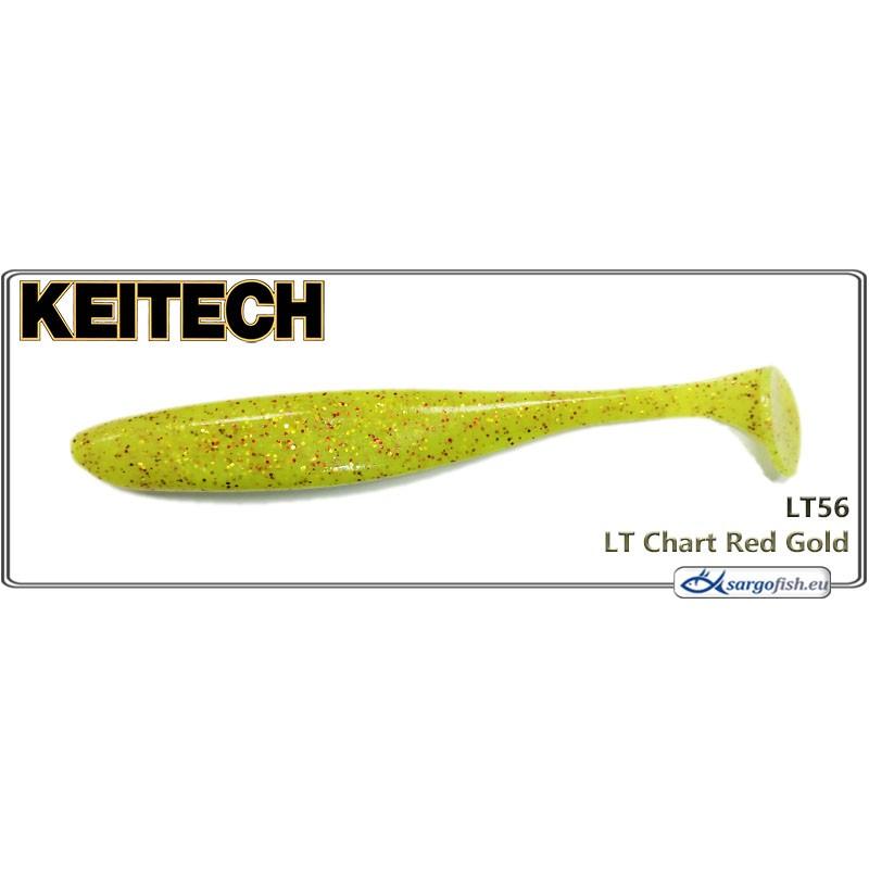 Силиконовая приманка KEITECH Easy SHINER 2.0 - LT56