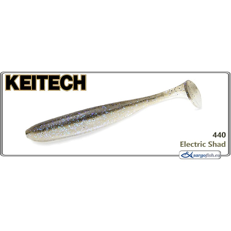 Силиконовая приманка KEITECH Easy SHINER 3.0 - 440