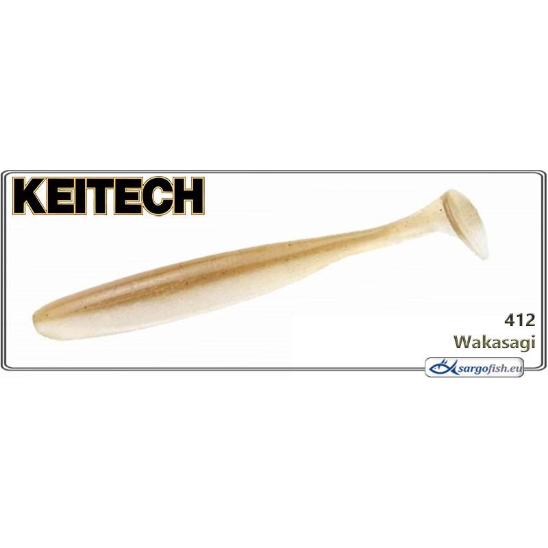 Силиконовая приманка KEITECH Easy SHINER 3.5 - 412