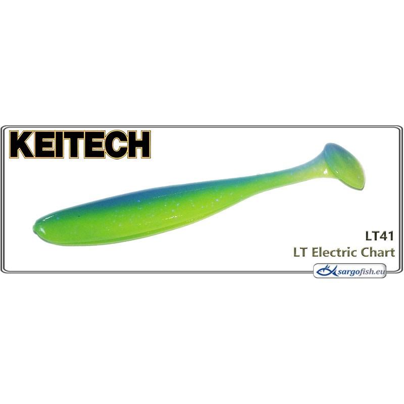 Силиконовая приманка KEITECH Easy SHINER 3.5 - LT41