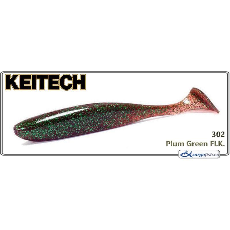 Силиконовая приманка KEITECH Easy SHINER 4.5 - 302