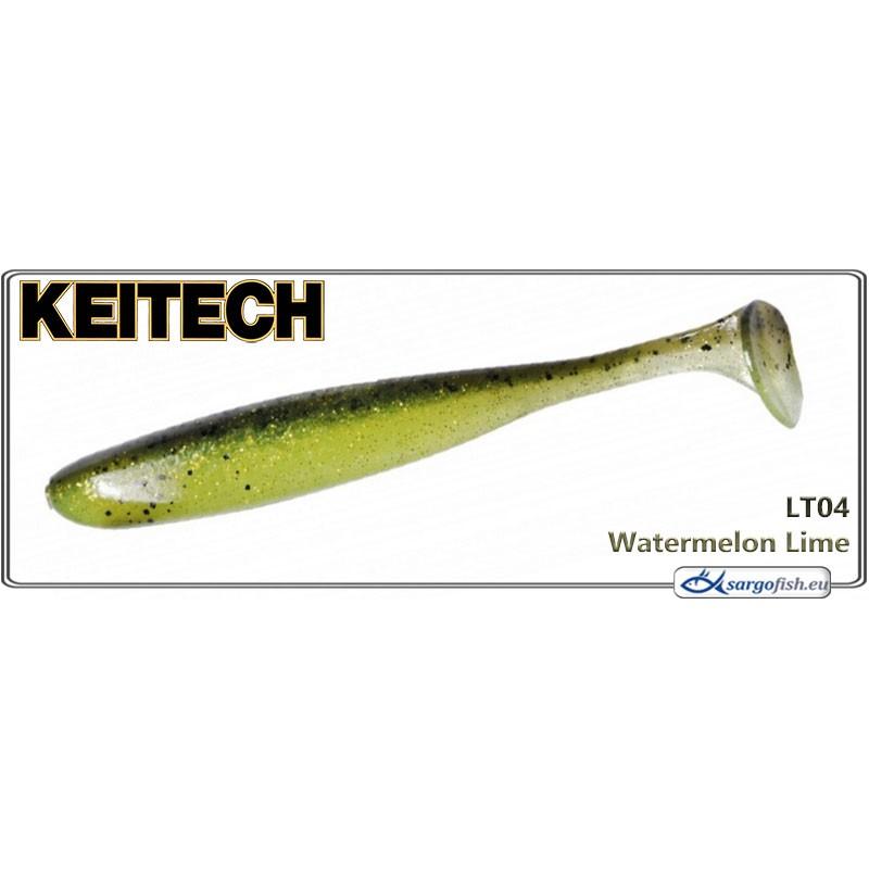 Силиконовая приманка KEITECH Easy SHINER 4.5 - LT04