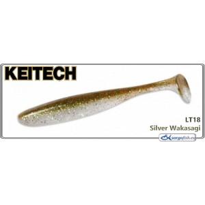 Силиконовая приманка KEITECH Easy SHINER 4.5 - LT18