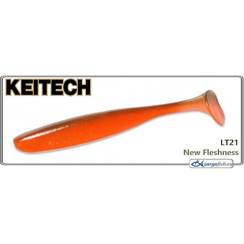 Силиконовая приманка KEITECH Easy SHINER 4.5 - LT21