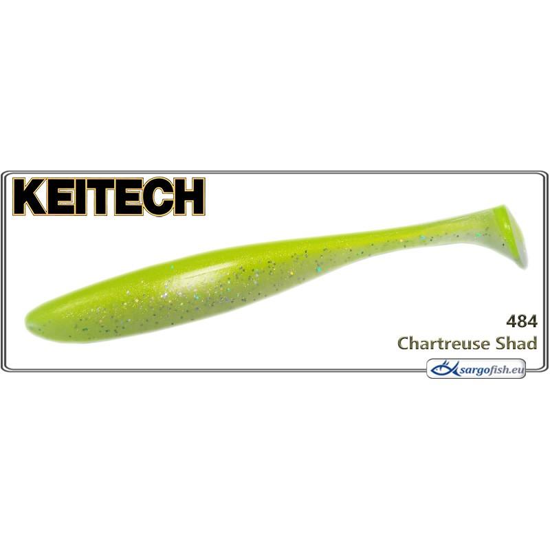 Силиконовая приманка KEITECH Easy SHINER 8.0 - 484