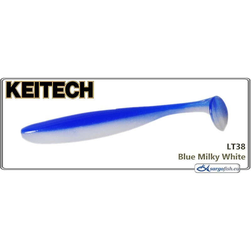 Силиконовая приманка KEITECH Easy SHINER 8.0 - LT38