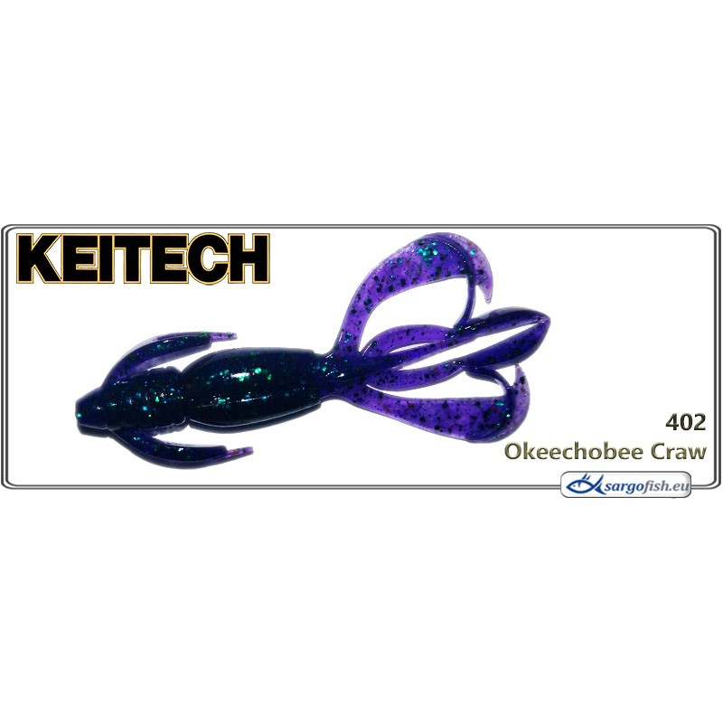 Силиконовая приманка KEITECH Crazy FLAPPER 2.8 - 402