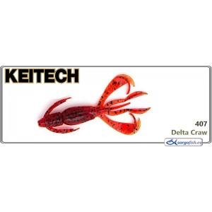 Силиконовая приманка KEITECH Crazy FLAPPER 2.8 - 407