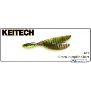 Силиконовая приманка KEITECH Flex CHUNK L - 401
