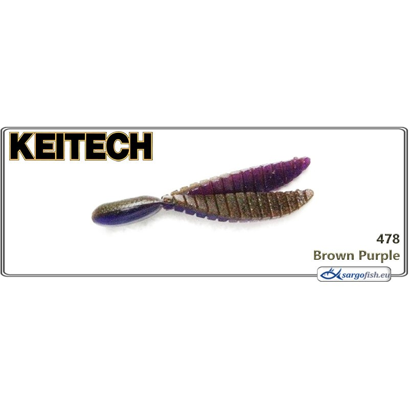 Силиконовая приманка KEITECH Flex CHUNK M - 478