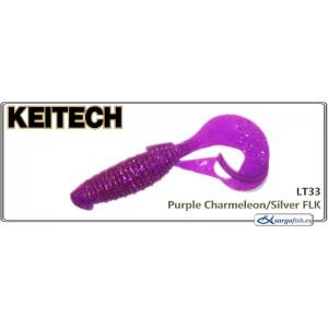 Силиконовая приманка KEITECH Flapper GRUB 4 - LT33