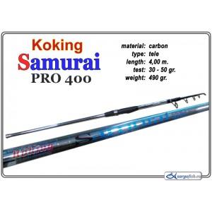 Спиннинг KOKING Samurai PRO - 400, 30-50