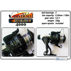 Катушка MISTRALL Hornet - 4000 RD