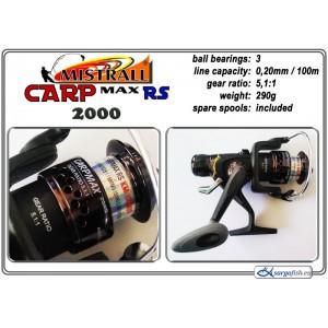 Катушка MISTRALL Carp MAX - 2000 RS