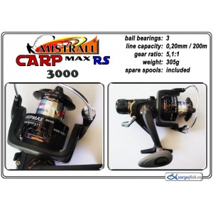 Катушка MISTRALL Carp MAX - 3000 RS