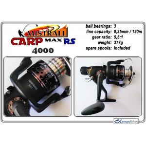 Катушка MISTRALL Carp MAX - 4000 RS