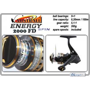 Катушка MISTRALL Energy - 2000 FD