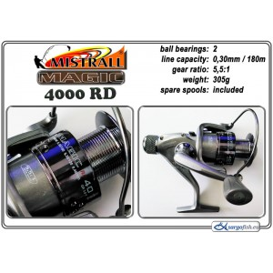 Катушка MISTRALL Magic - 4000 RD