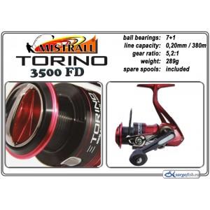 Катушка MISTRALL Torino - 3500 FD