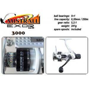 Катушка MISTRALL Exor - 3000 RD