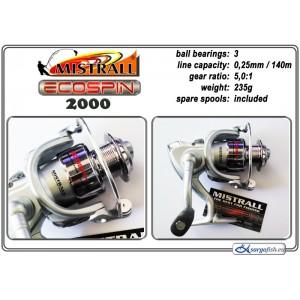 Катушка MISTRALL Ecospin - 2000
