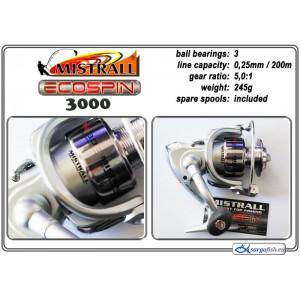 Катушка MISTRALL Ecospin - 3000