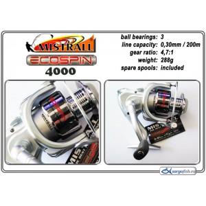Катушка MISTRALL Ecospin - 4000