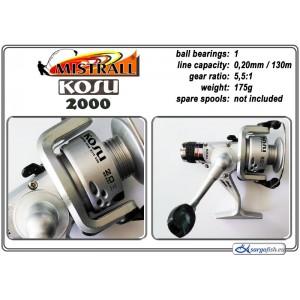 Катушка MISTRALL Kosu - 2000 RD
