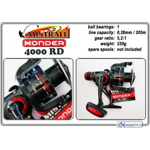Катушка MISTRALL Honder - 4000 RD