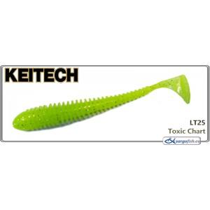 Силиконовая приманка KEITECH Swing IMPACT 2.5 - LT25