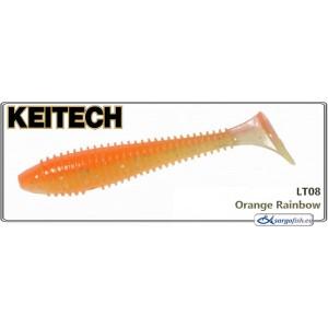 Силиконовая приманка KEITECH Swing IMPACT FAT 2.8 - LT08
